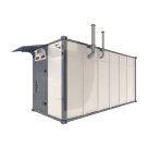 Кабина управления и распределения электроэнергии в блок-контейнере