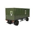 Стерилизационный медицинский блок-контейнер на шасси