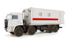 Медицинский вспомогательный блок-контейнер на шасси