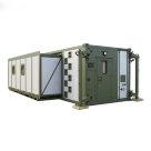 Раздвижной кузов-контейнер переменного объема