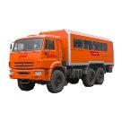 Вахтовый автобус для ремонтных бригад на шасси КАМАЗ 43118 комплектация С-2 расширенная