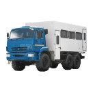 Вахтовый автобус на шасси КАМАЗ 5350 К