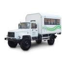 Вахтовый автобус на шасси ГАЗ 33081 комплектация С-3 максимальная