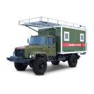 Мастерская на базе автомобиля ГАЗ-33081 К (каркасный фургон)