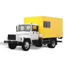 Автомобиль-мастерская на шасси ГАЗ 3309 К (каркасный фургон)