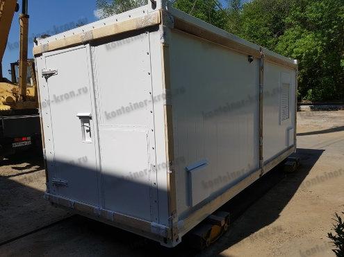 Упаковка металлического контейнера