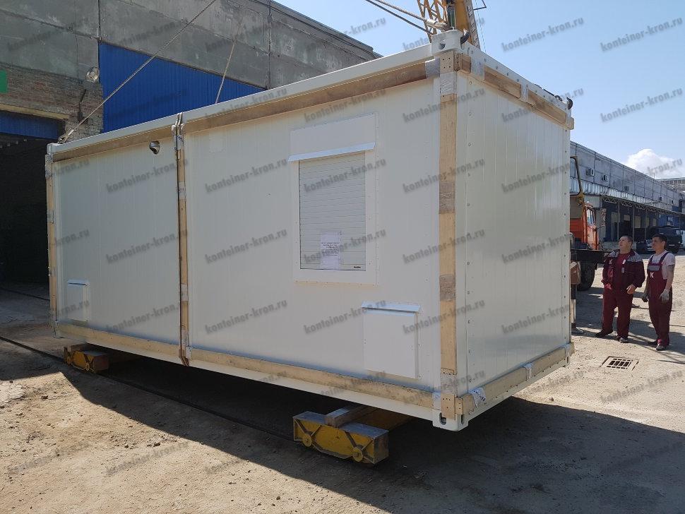 Фото блок контейнера