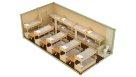 Жилой блок-контейнер с санузлом - 18 человек