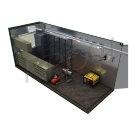 Мобильный контейнер для геофизических работ