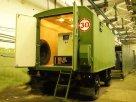 Передвижная дизельная электростанция в утеплённом кузове-контейнере на двухосном прицепе-шасси ЭД200-Т400-1РК