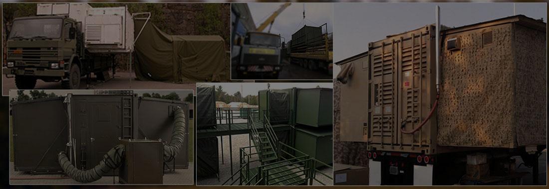 Кузов-контейнеры военного назначения